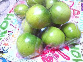 売木村の青いトマト