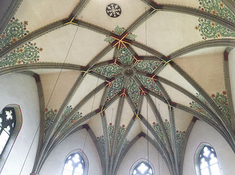 Gewölbe in der Kirche St. Anna