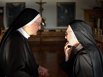 Frau Mutter und eine Schwester im Kloster St. Anna