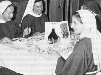Die Schwestern vom Kloster St. Anna in den 1960er Jahren
