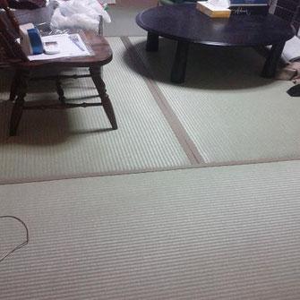 畳張り替え 気分草快 樹脂表使用