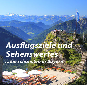 Ausflugsziele ab dem Campingplatz in Bad Feilnbach
