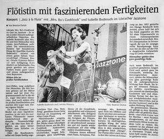 Artikel von Beatrice Ehrlich, die Oberbadische, 17.09.2017