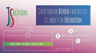 Banderole publicitaire pour J&S Création