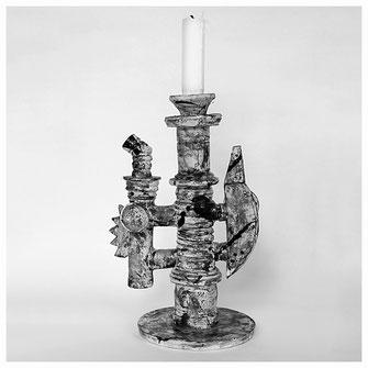 Andre Bauersfeld Keramik Leuchter