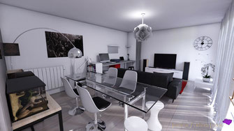 Visualisation 3D salon