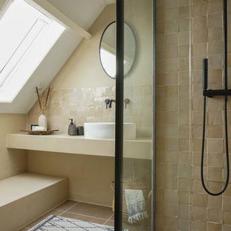 Betoncire badkamer