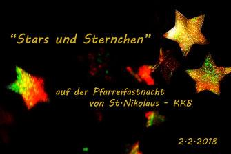 Pfarreifastnacht - Stars und Sternchen
