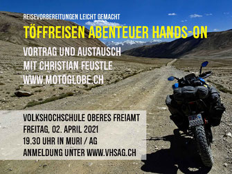 Flyer für Motorrad Event
