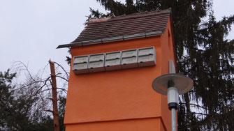 Trafoturm Mauerseglerkästen