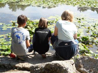 Auf Motivsuche am See (Foto: Meike Kempermann)