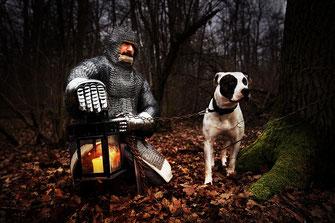 Ritter Hund Dog Knight Simon Knittel Maulbronn Fotograf Foto