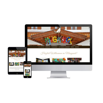 Kathi Klotz Kommunikationsdesign Referenz Websitedesign Mauganest Mittenwald