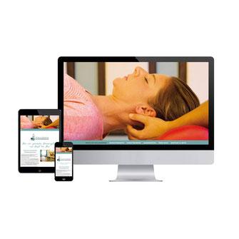 Kathi Klotz Kommunikationsdesign Webdesign Referenz Bianca Brantner Physiotherapie
