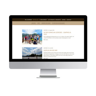Kathi Klotz Kommunikationsdesign Referenz Website Blog Betreuung