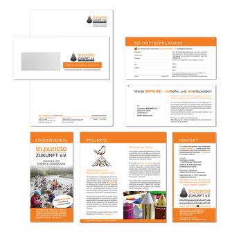 Kathi Klotz Kommunikationsdesign Referenz Printdesign in.punctoZUKUNFT e.V.