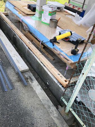 土台施工~柱~桁の画像1