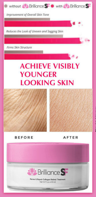 Achieve younger looking skin
