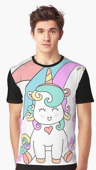 Baby Unicorn T Shirt