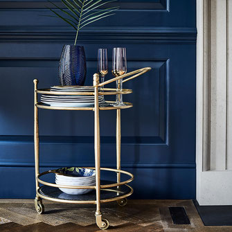 Two tiered Art Deco Trolley - read on at www.beautifulmum.co.uk/home about Art Deco Style for your home