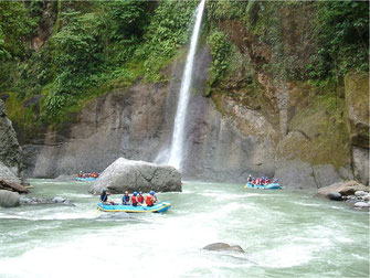 Rafting from Arenal to Pacuare