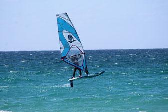 Windsurfen schönster Spot auf Rügen