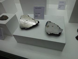 coupes de météorites