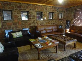 Le salon où il y a le wifi