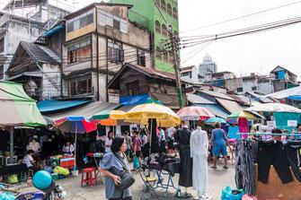 Markt in Bankok im indischen Viertel Little India © Jutta M. Jenning