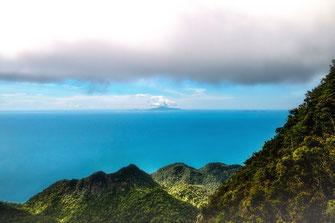 Blick von Langkawi auf die Insel Ko Lipe © Jutta M. Jenning