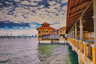Swettenham Pier in Georgetown-Insel Penang Malaysia Foto: www.mjpics.de