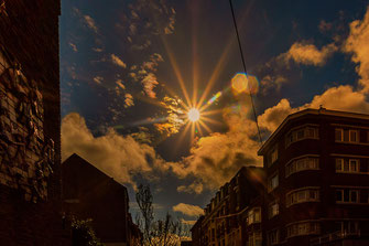 Sunshine over the Blocks in Verviers-Belgien © Jutta M. Jenning ♦ www.mjpics.de
