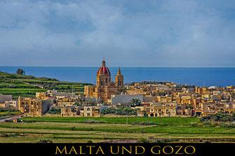 St. George Kirche auf Gozo in Gharb-Reisefotografie Europa-Malta