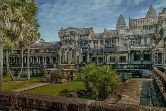 Angkor Wat Tempelanlage in Kambodscha