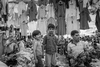Türkischer Kleidermarkt in Kadiköy Basar © mjpics