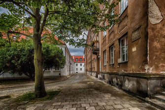 Straße in der Warschauer Neustadt