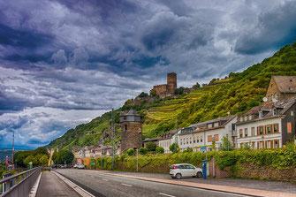 Burg Gutenfels in Kaub am Rhein © Jutta M. Jenning ♦ mjpics.de