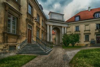 Alte Bibliothek in Warschau-Universitätsgelände