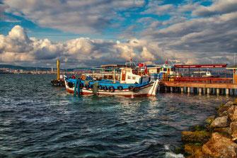 Bootsanlegestelle am Marmarameer