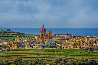 St. George Kirche auf Gozo in Gharb