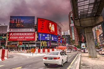 Stadtverkehr in Kuala Lumpur
