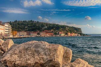 Hafen in Piran © Jutta M. Jenning ♦ mjpics.de