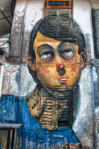 Street Art in Georgetown Malaysia © Jutta M. Jenning