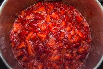 Erdbeeren einkochen für Marmelade