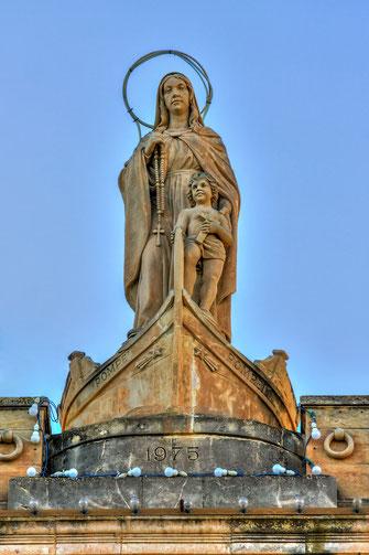 Marien-Statue Lady of Pompei-Marsaxloxx Malta