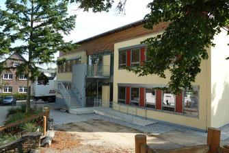 Offene Ganztagsschule, Modulbauweise, Witterschlick, Holzbau, Schulbau, Schule