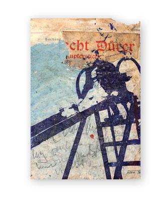 PEER BOEHM, PLAYSTATION, 2020, Kugelschreiber, Acryl, Graphit und Collage auf Papier, 37 x 25 cm, € 1.900,--