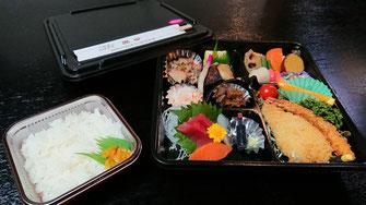 ちょっとしたお食事会に・・2,160円(税込)お弁当一例(要予約)