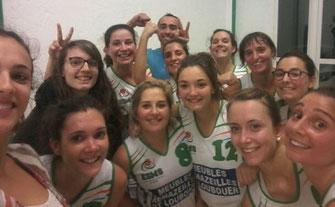 Bravo pour cette 2ème victoire en 2 matchs pour les filles ! Rendez-vous dimanche à Montsoué (14h) face à Auribat en Chalosse