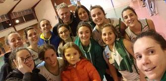 Petit score mais grosse défense ! Les filles remportent une nouvelle victoire qui les maintient à la 3ème place, à égalité avec 3 autres équipes ! RDV samedi à Sarraziet (22h) pour la réception de Biscarrosse